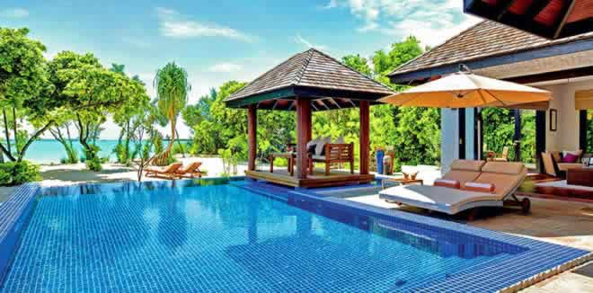 Most fabulous Beach Pool Villas for family holiday