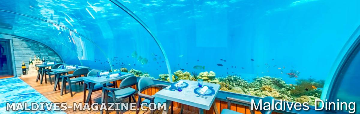 6 Подводные Рестораны на Мальдивах 2019
