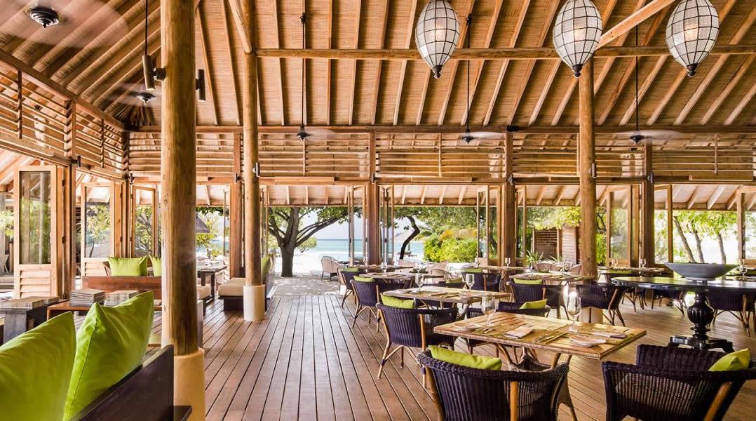 Cocoa Island main restaurant