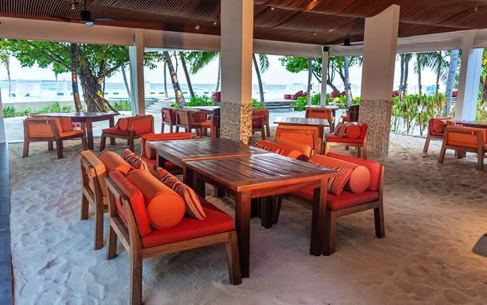 Amilla Fushi Opens New Chill'd Café