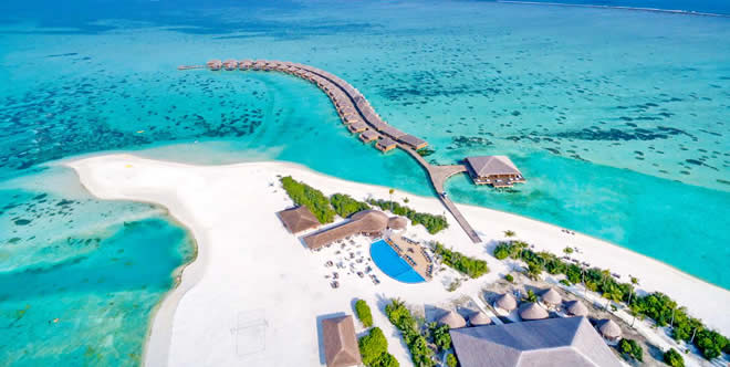 Cocoon Maldives  the beach