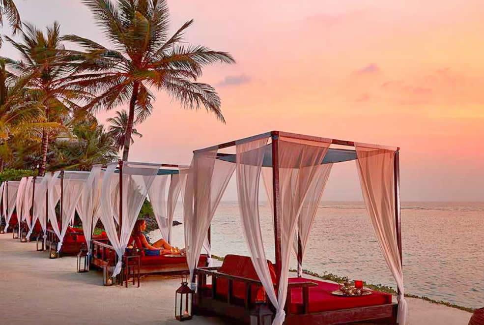 Ресторан Fanditha, OORR maldives