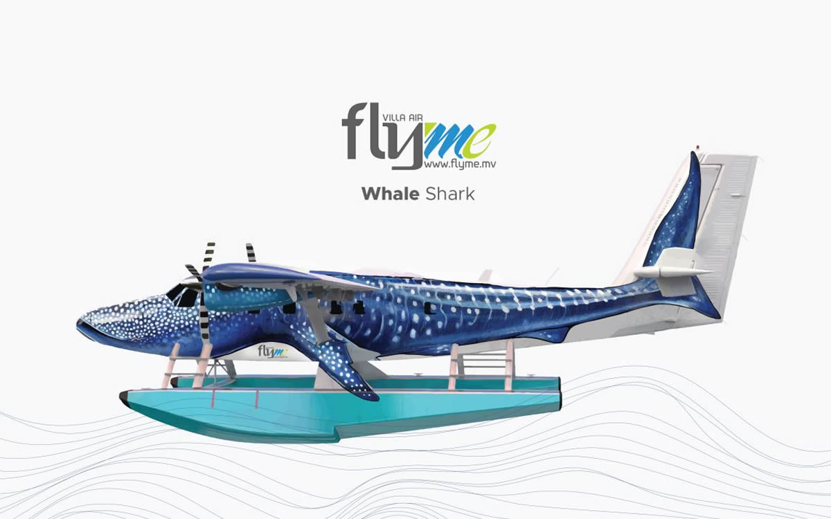 Flyme to Introduce One-of-a-Kind Sea Plane Dedicated to the Whale Shark