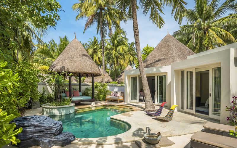Four Seasons Resort Maldives Kuda Huraa Opens New Tropical Beach Pavilions