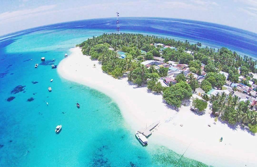 локальный остров фулиду, мальдивы