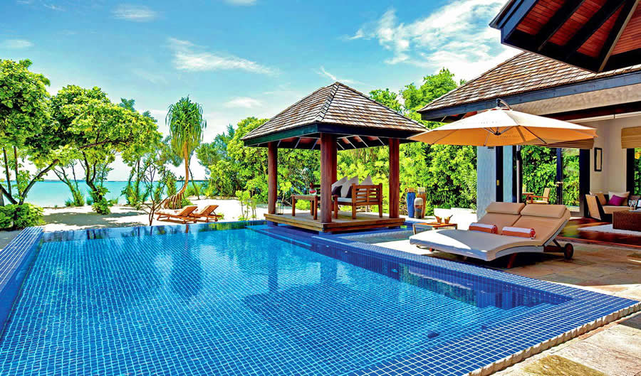 Best Family Beach Pool Villas in Maldives
