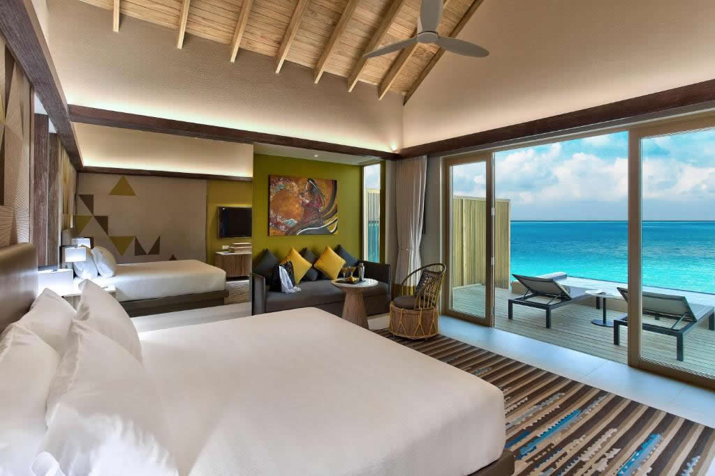 Hard Rock Hotel Maldives  for family vacation