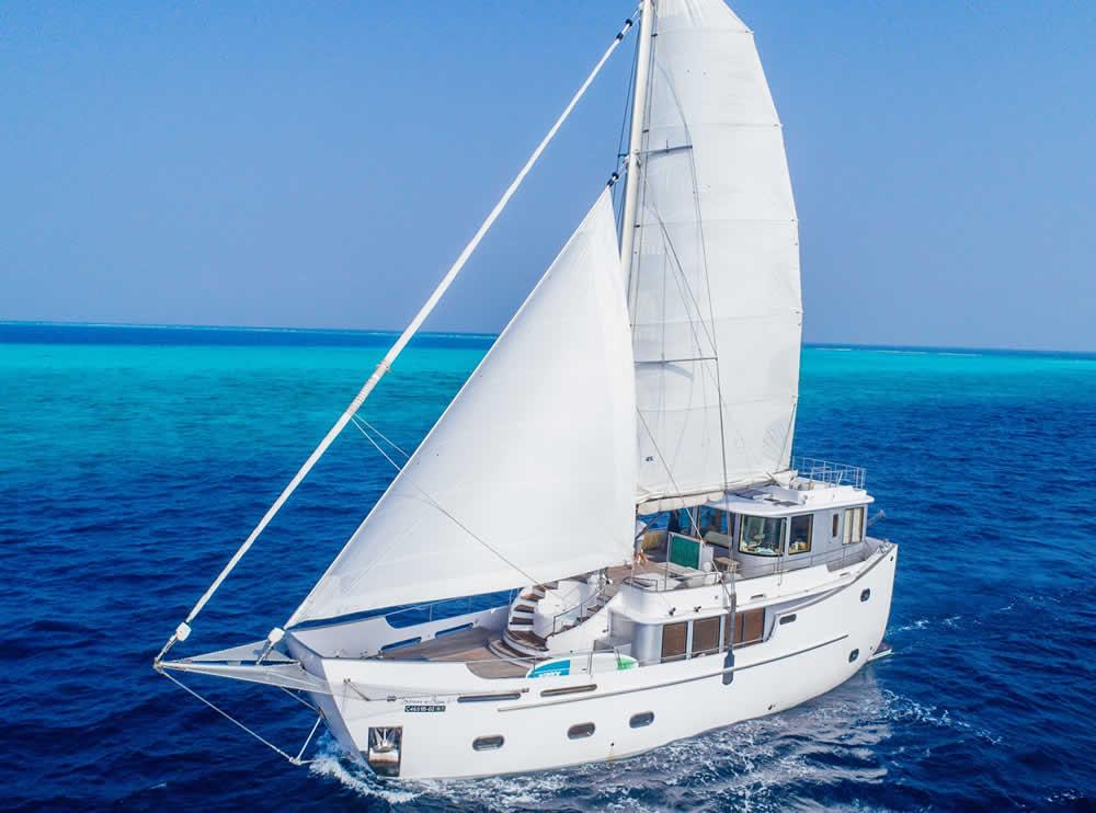 Maldives sailing