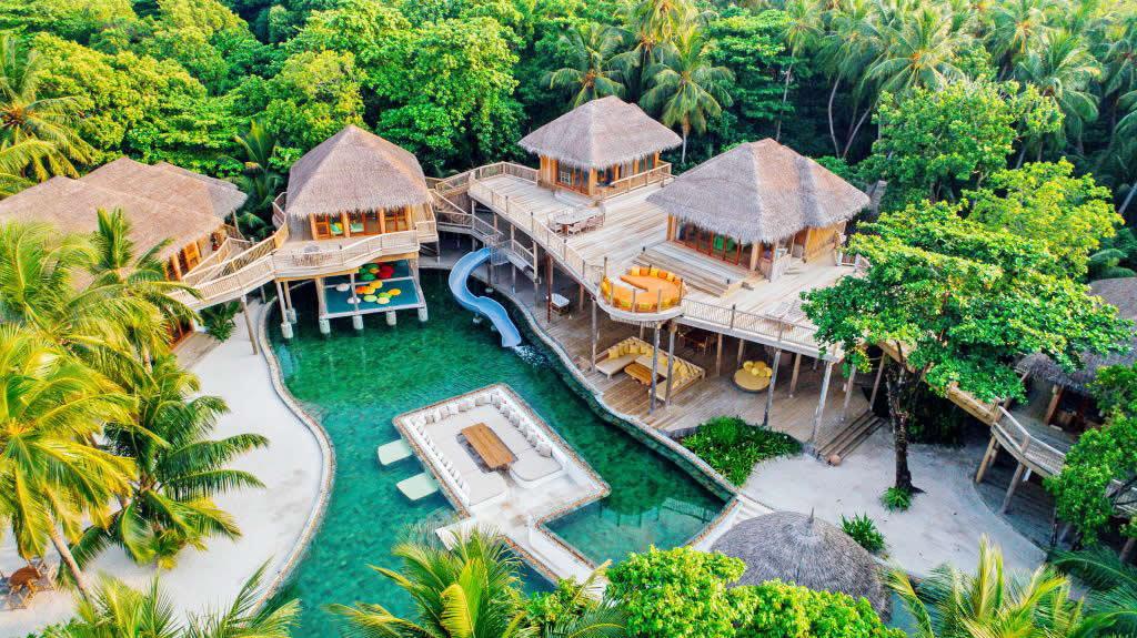 Soneva Fushi beach houses
