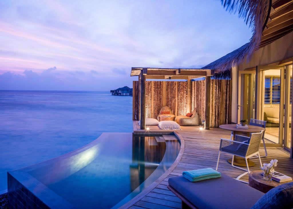 Get the celebrity treatment with world-class service at InterContinental Maldives Maamunagau Resort