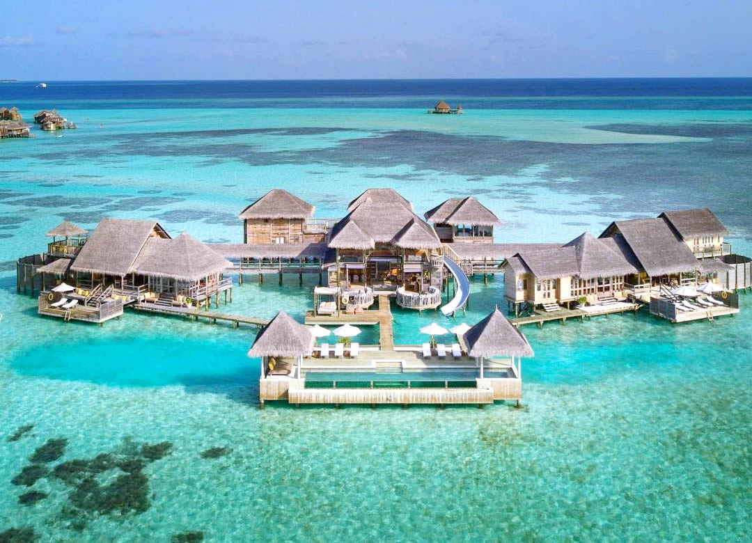 The Largest Overwater Villa in the Maldives