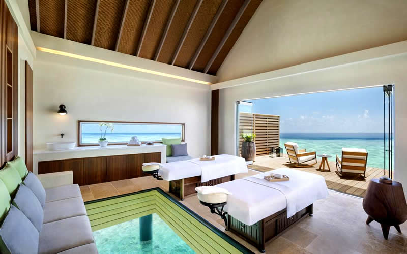 Waldorf Astoria Maldives Ithaafushi's Spa Offers an Unforgettable Luxury Spa Experience