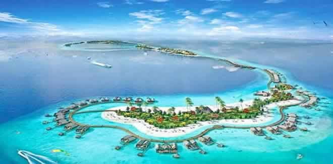 "Waldorf Astoria Maldives Ithaafushi is an exclusive 5-star resort that's bringing a ""next level"" to the luxury holiday"