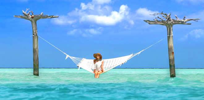 overwater hammock