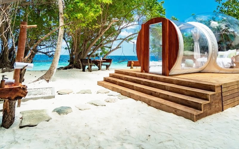 Amilla Fushi Resort Villas & Residences Unveils Ultimate 'Glamping' Experience