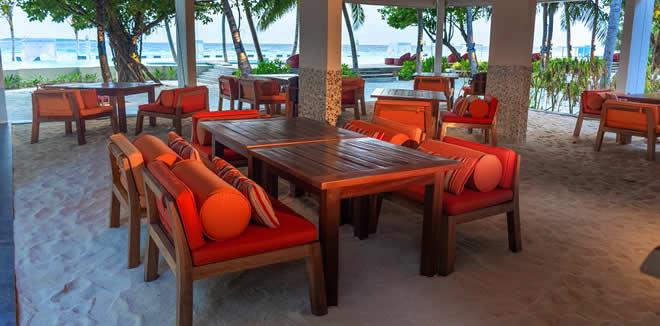 Chill'd Café в Amilla Maldives