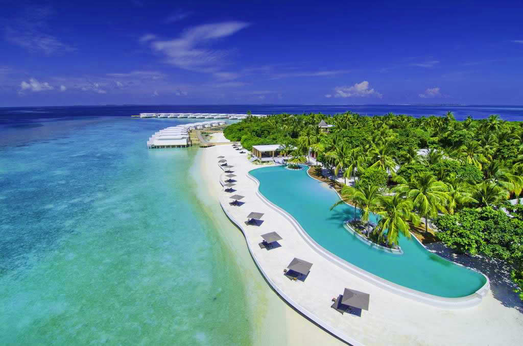 Amilla Maldives Resort & Residences - water pool villa