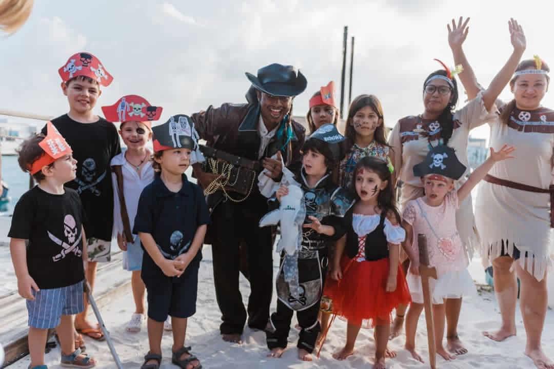 The Sultan's Village kids' club at Amilla Fushi Resort Villas & Residences