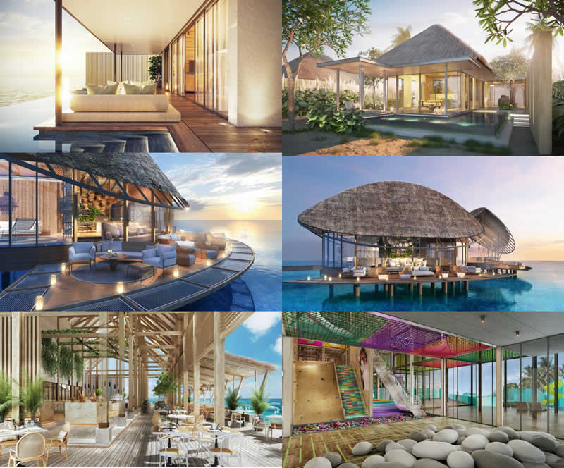 Hilton Maldives Amingiri overview