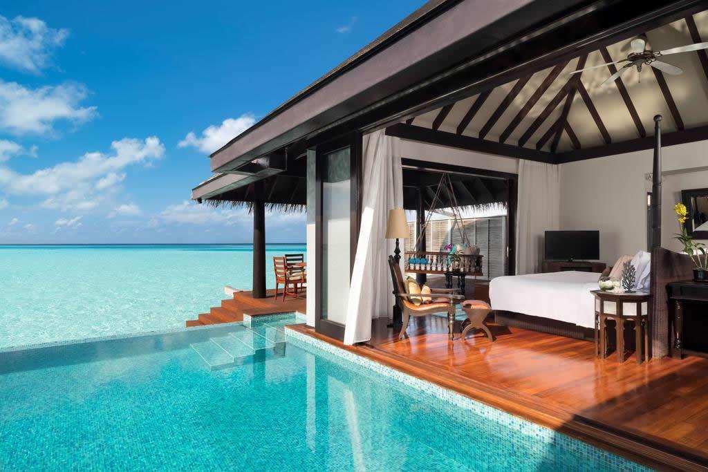 Anantara Kihavah Maldives Villas - Водная Вилла с Бассейном