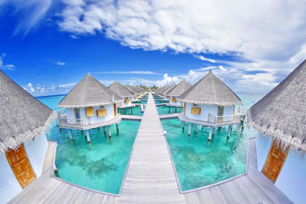 Angaga Island Resort and Spa water villas