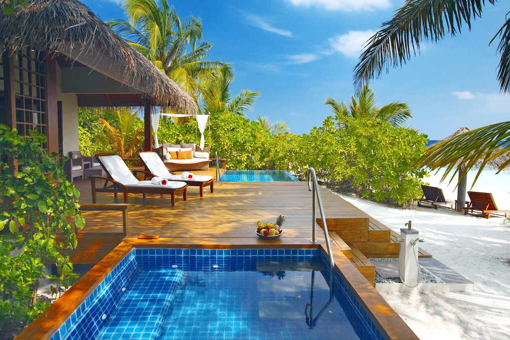 Best Romantic Beach Pool Villas in Maldives