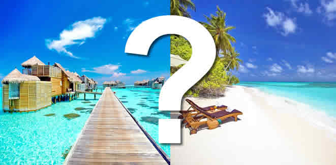 Maldives - a name that became synonymous with honeymooners' paradise in the tourism world