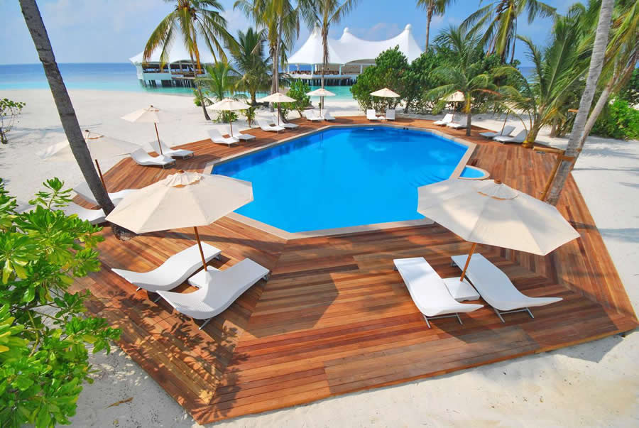 Safari Island, main swimming pool