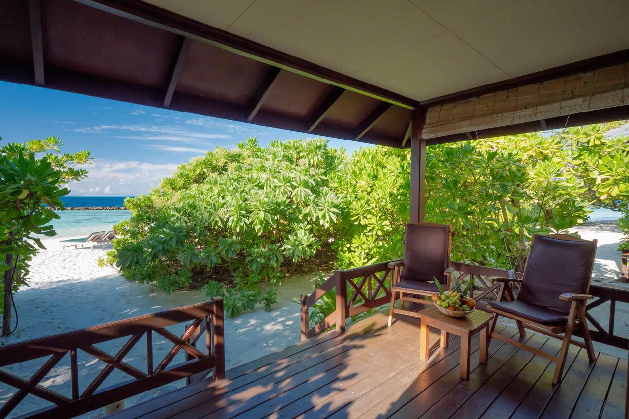 Royal Island Resort & Spa, beach front accommodation