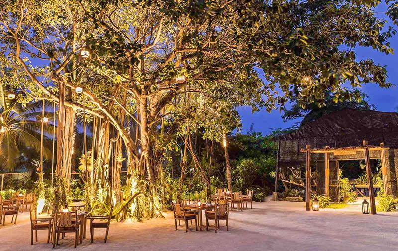 Ресторан Ботаника, OORR maldives