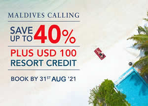 Maldives Calling - Book now