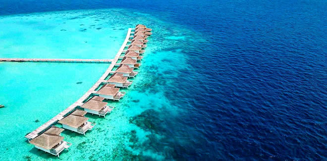 Cocogiri Island Resort - best luxury resorts for snorkeling in the maldives