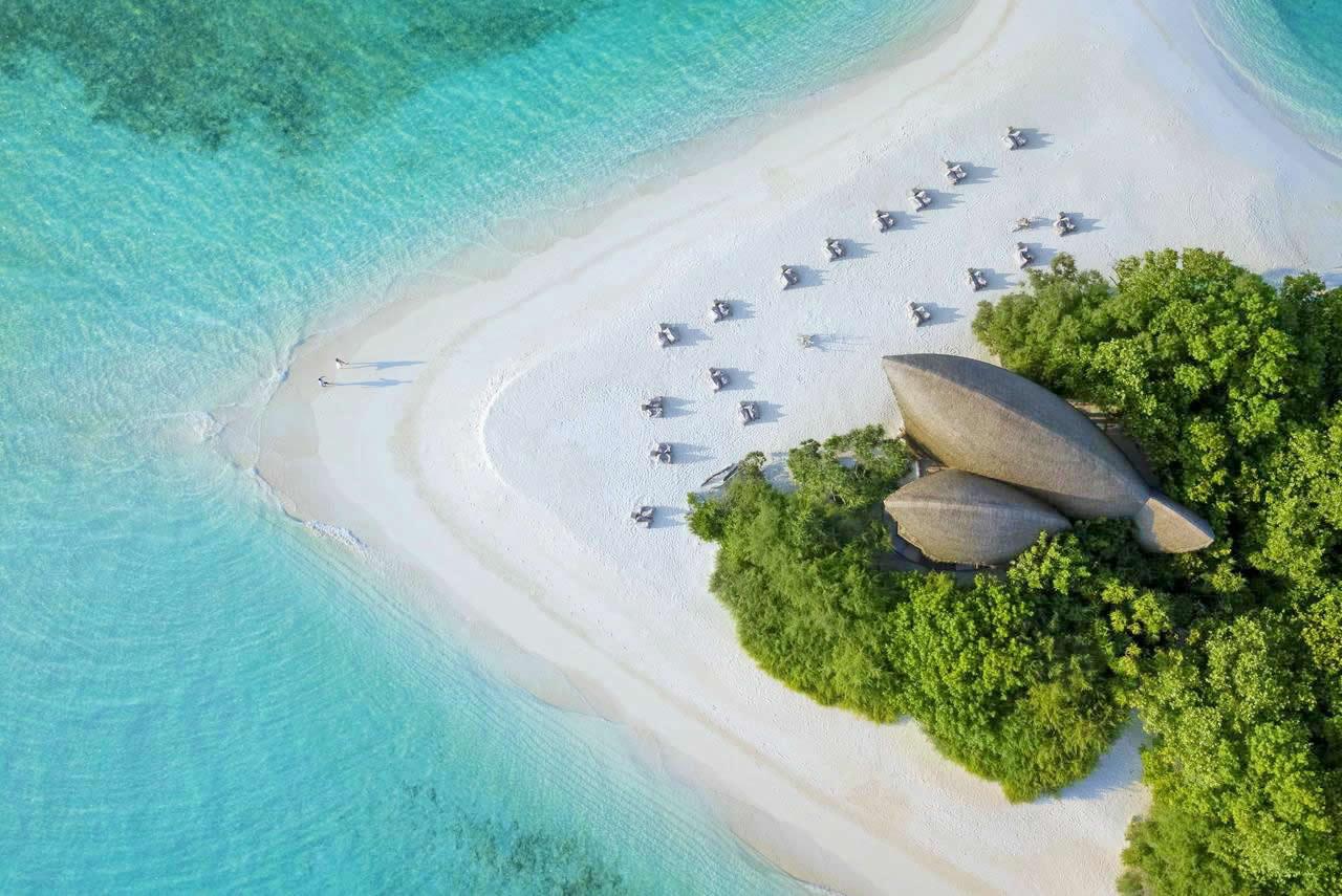 Dhigali Maldives, the beach bliss