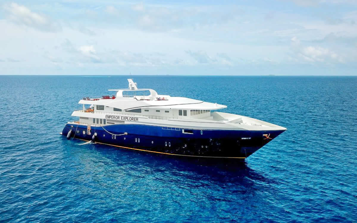 Emperor Maldives Launches New Dive Liveaboard MV Emperor Explorer