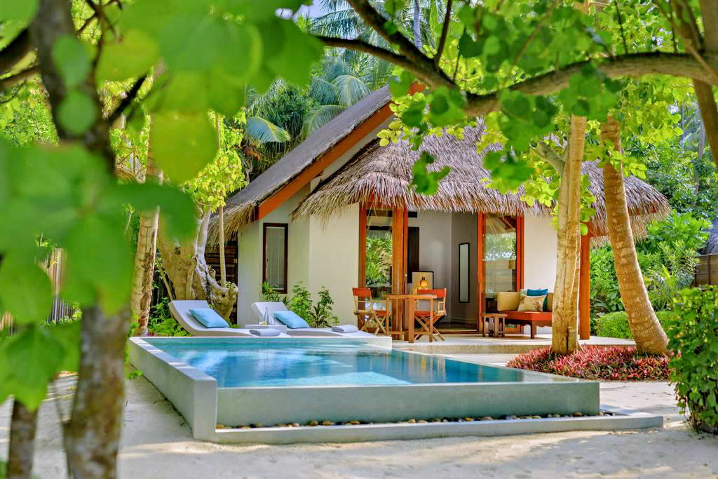 Dusit Thani Maldives  - Beach Deluxe Villa with Private Pool