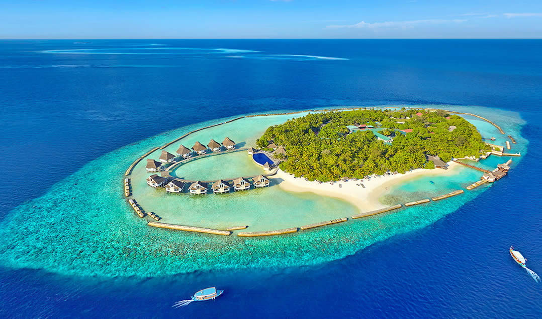 Ellaidhoo Maldives by Cinnamon, aerial view