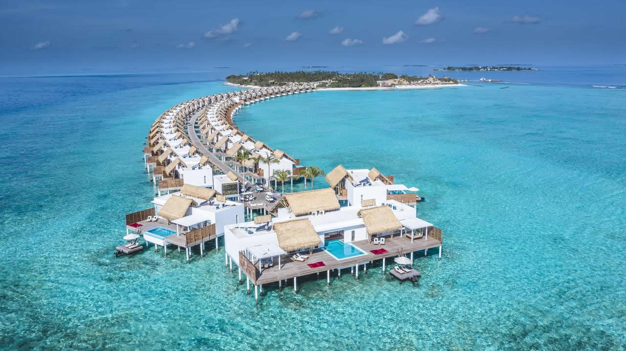 Emerald Maldives Resort & Spa: Открылся 1 августа 2019
