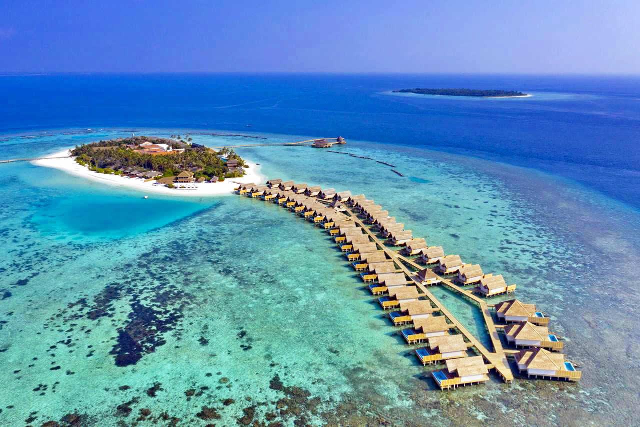 Faarufushi Maldives aerial