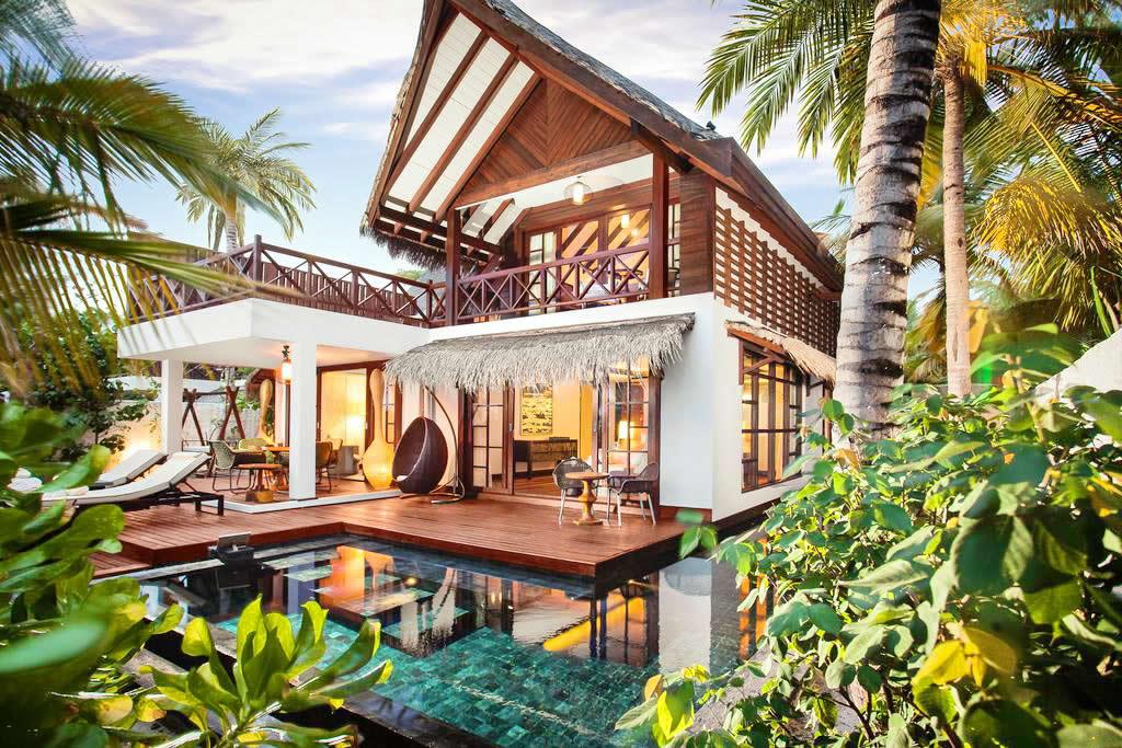 OZEN RESERVE BOLIFUSHI - A Luxury All-Inclusive Resort - family beach poolvilla