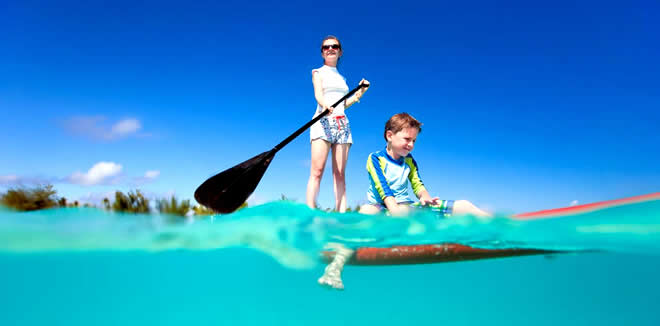 Favorite kids activities in maldives