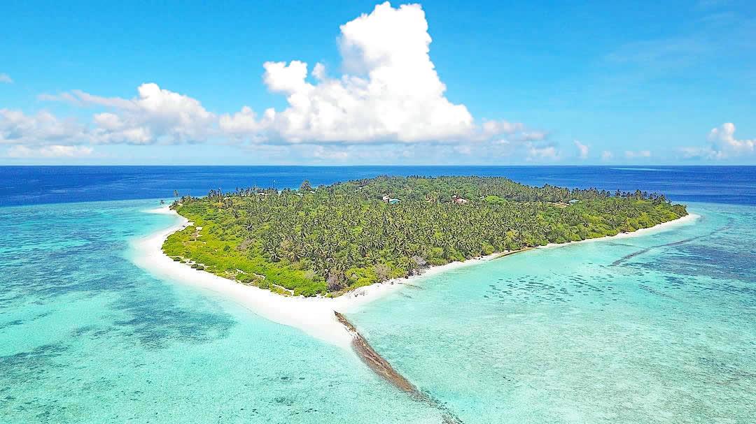 остров фериду мальдивы