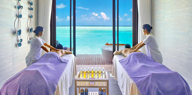 1st Time Spa in The Maldives