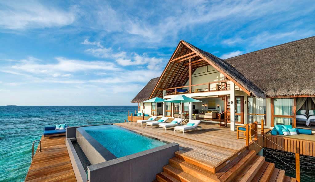 Four Seasons Resort Maldives water villa