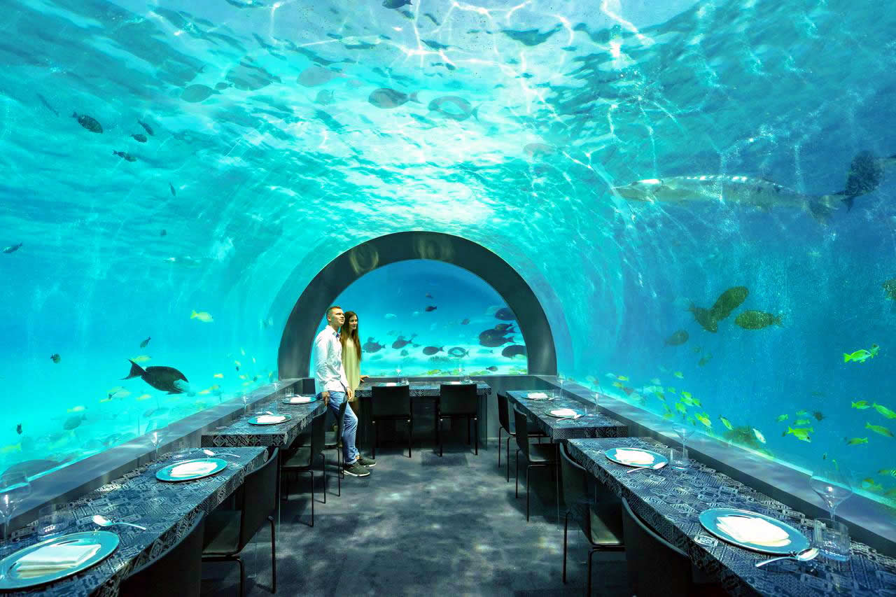 You & Me Maldives - H2O underwater  restaurant