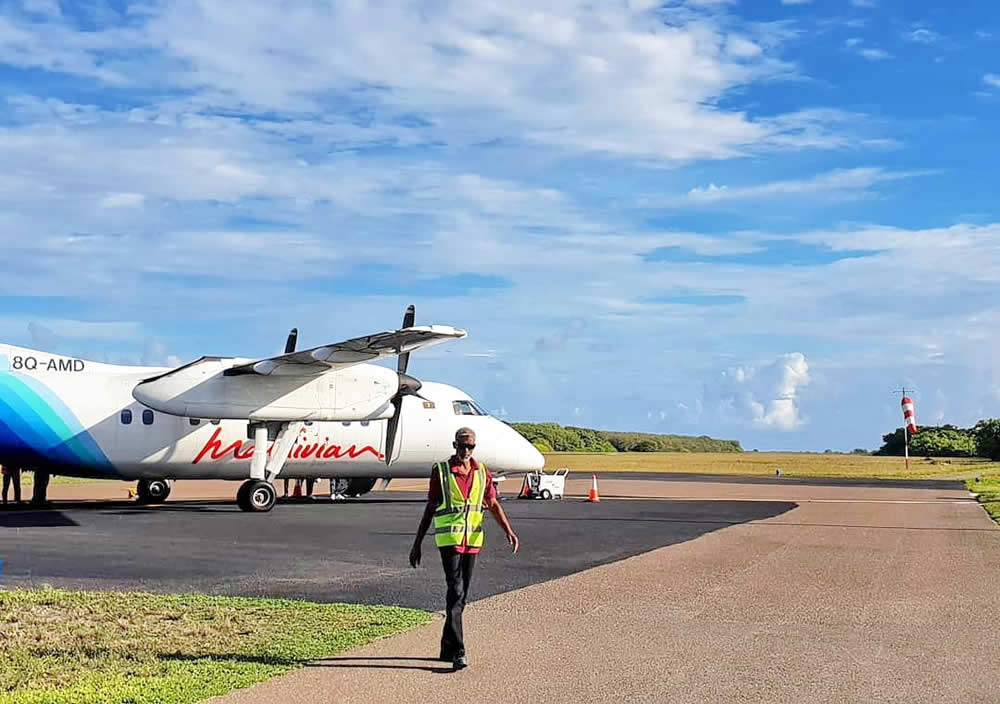 Hanimaadhoo International Airport (HAQ)