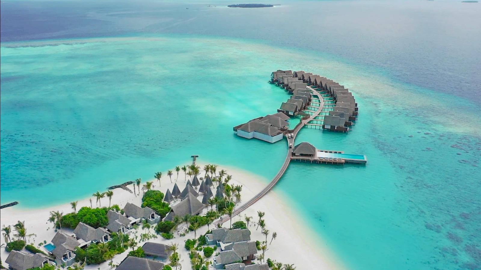 heritance maldives aerial