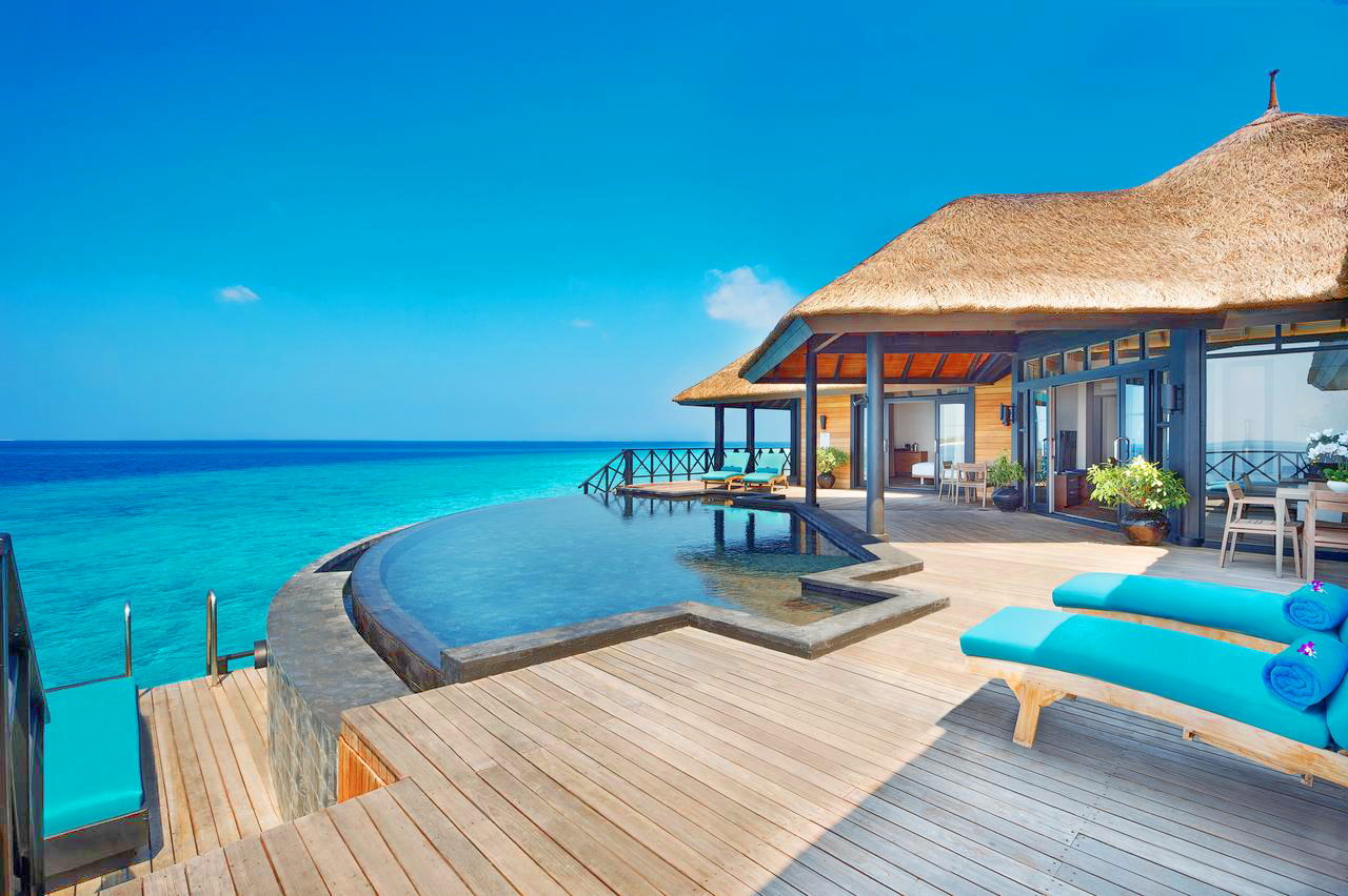 Situated on a private island in the north of the Maldives, JA Manafaru provides luxurious beach bungalows, suites and over-water villas with private outdoor pools.