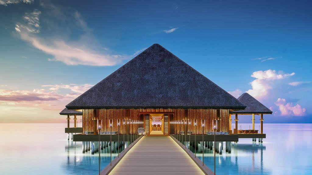 overwater luxury spa