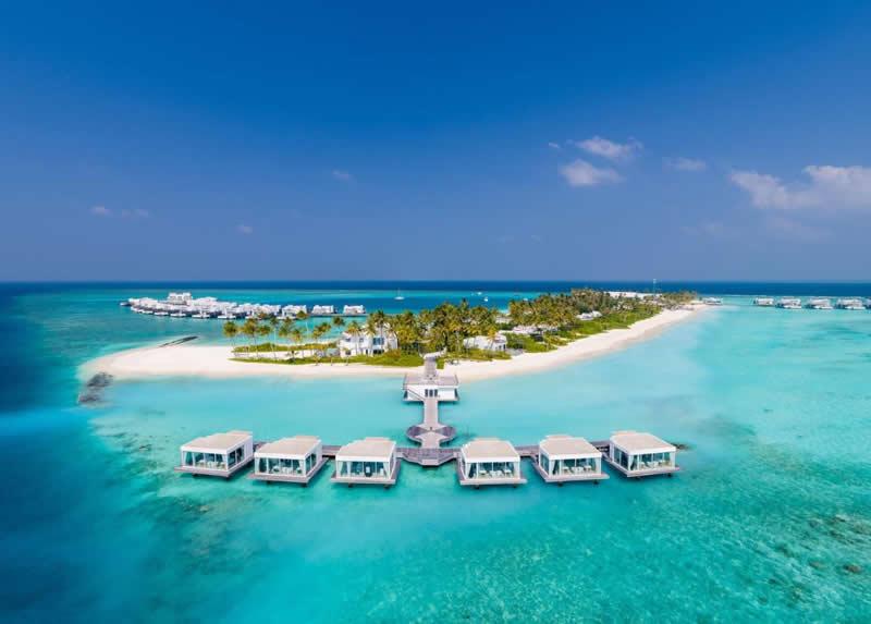Jumeirah Maldives  aerial