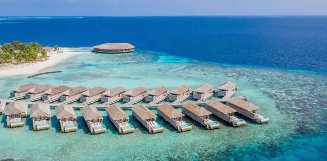 Kagi Maldives Spa Island aerial